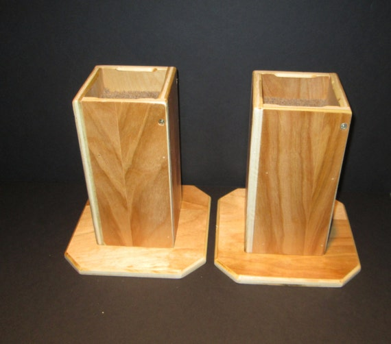 Furniture risers inch all wood construction sleek by