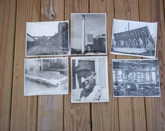 1940s Birmingham Alabama Southern Railway Railroad Train Car Factory Photos