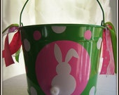 Personalized Easter Bucket 10qt.