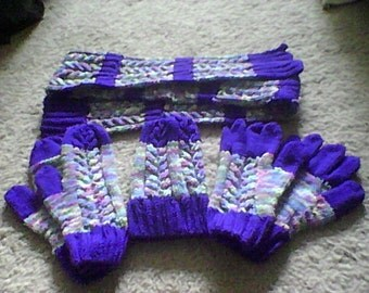Amethyst and Monet Set