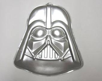 Darth Vader Wilton Cake Pan 1980 Star Wars Mould Mold 502-1409