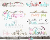 Custom Logo Design custom logo photography branding package custom branding package Custom Photography Logos Custom Sewing Logo