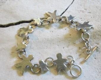 Vintage Sterling Silver Bracelet Sterling Silver Jewelry Sterling Silver Tennis Bracelet