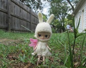 Knitting Pattern- Rabbit Outfit for Petite Blythe
