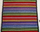 the rainbow granny stripe blanket