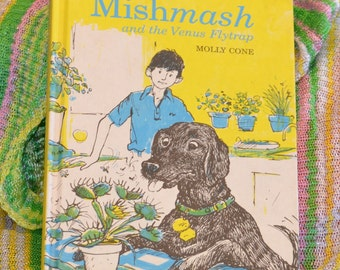 vintage 1970s 'Mishmash and the Venus Flytrap' children's book