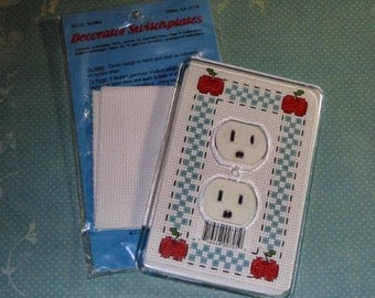 Cross Stitch Switchplate Cover