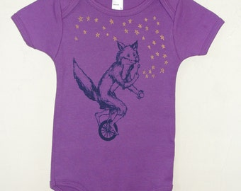 The star blower- Organic Infant Short-Sleeve Onesie