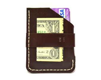 brown mens wallet, for him, personalized for him, mens gift, personalized mens wallet, mens wallet leather, mens wallet, coin pocket leather