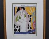 Original November 1921 Vogue Cover, Art Deco