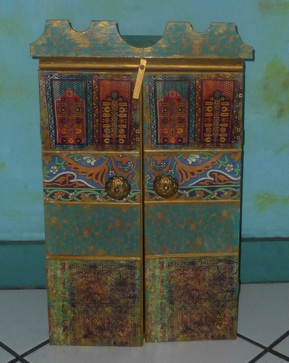 Moroccan inspired  Cabinet for jewelry and much more