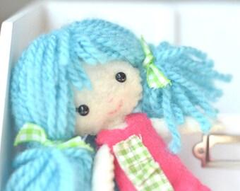 Pocket Pixie Plush Felt Doll