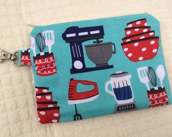 For the Baker Small Zippered Pouch