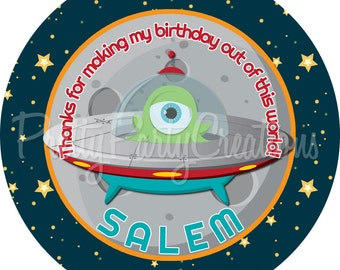 OUTER SPACE favour tags