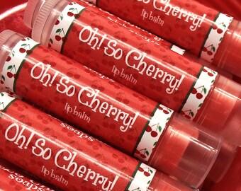 Lip Balm - OH! SO CHERRY! Lip Balm