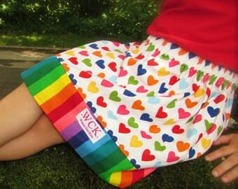 I love rainbows Skir  (18 mos, 24 mos, 2T, 3T, 4T, 5, 6)