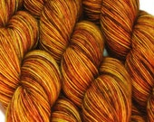 SALE sw merino single ply yarn SHIRE Lord of the Rings hand dyed fingering weight 3.5oz 400 yards