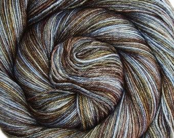 55/45 sw bfl silk yarn SLUMBER hand dyed fingering weight 3.5oz 435 yards