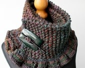 Highland Heather Frill Scarf