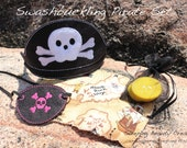 Swashbuckling Pirate Set- Boys or girls- individual options available