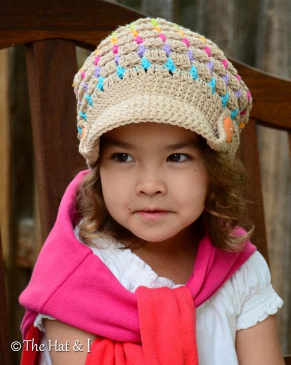CROCHET PATTERN - Summer Slouchy - crochet slouchy hat ...