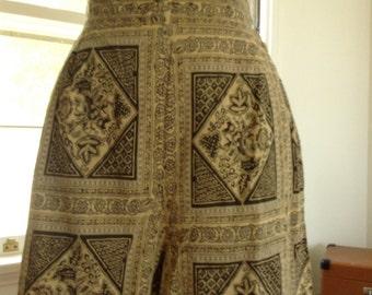 Cotton 1940s Shorts  27 Inch Waist Small Medium Pin Up