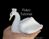 Baby Washcloth Swan, WashAgami ™, Instructional Video