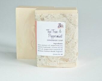 Tea Tree & Peppermint Handmade Soap