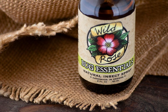 BUG ESSENTIALS - Organic Bug Spray - Natural Insect Repellent - 60ml // 2oz