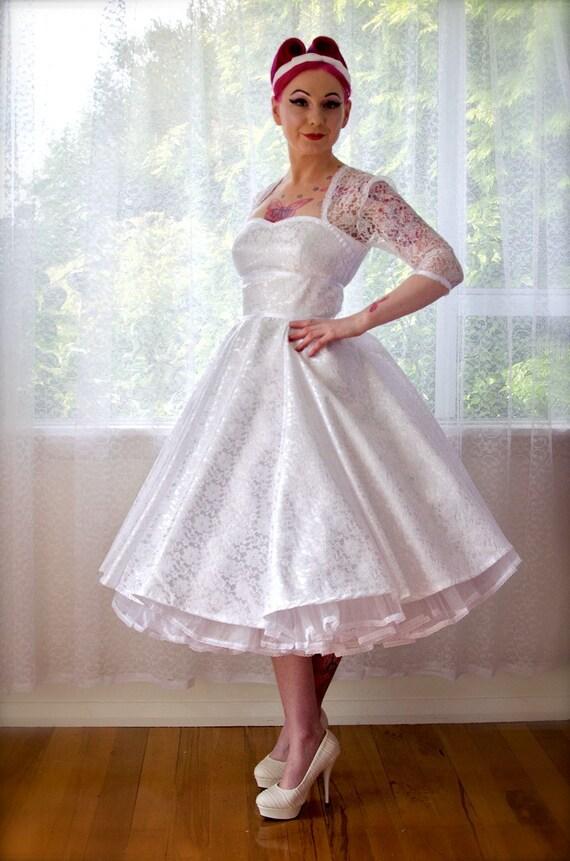 1950 S Rockabilly Lorilynwedding Dress With