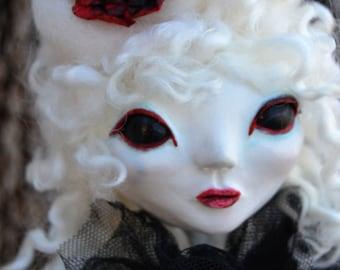 Custom Art Doll - Victorian Doll - Victorian Goth