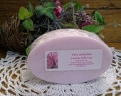Glitz AND Glamour Coconut Milk Soap You Choose-Blackberry Amber, Champagne, Heavenly, Peony, Pure Seduction, Lovely, Happy