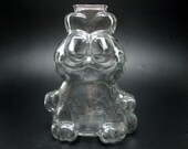 GARFIELD the cat glass bank ( jim davis cartoon ) save up for lasagna .