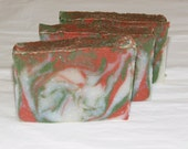 Tobacco and Bay Leaf Mens Luxury Cold Process Rustic Soap