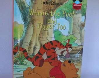Winnie the Pooh and Tigger Too Notebook - Handmade Disney Notebook
