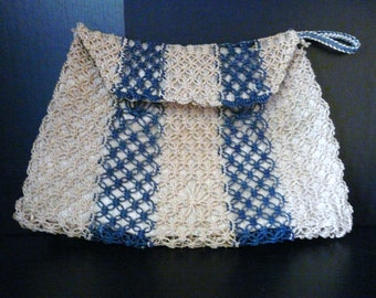 Vintage Crocheted Clutch