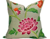 Manuel Canovas Carla pillow cover in Rose Indien