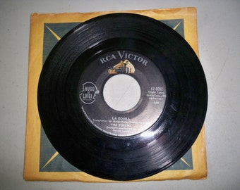 """Vintage Rare 1960's 45 rpm Record """"La Bomba"""" by The Tokens"""