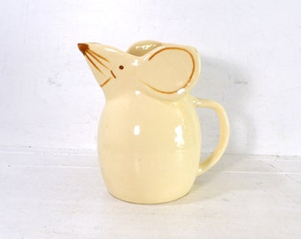 Vintage Ceramic Mouse Shaped Pitcher