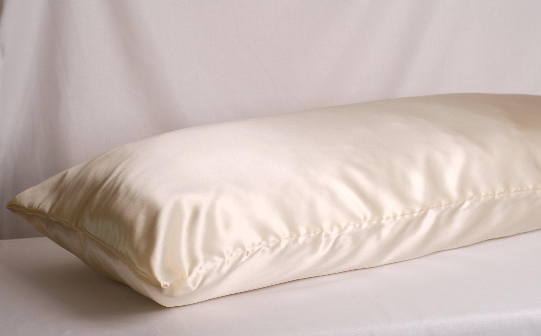 Silk Body Pillowcase 21x 55 Charmeuse Silk Many