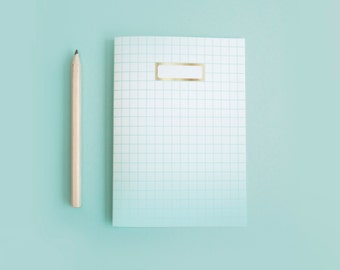 MINT Notebook Ombre