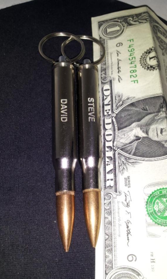 two engraved nickel plated 3006 bullet bottle opener keychain. Black Bedroom Furniture Sets. Home Design Ideas
