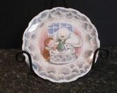 Royal Doulton Collectible Snowman plate