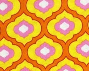 SALE - Pretty Little Things - Orange from Free Spirit Fabric