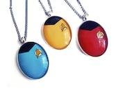 Star Trek Shirt Necklace Multilisting Geek Sci Fi