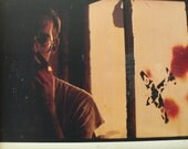vintage color photograph of David Wojnarowicz by Brian Albert from Diz has Neat Stuff