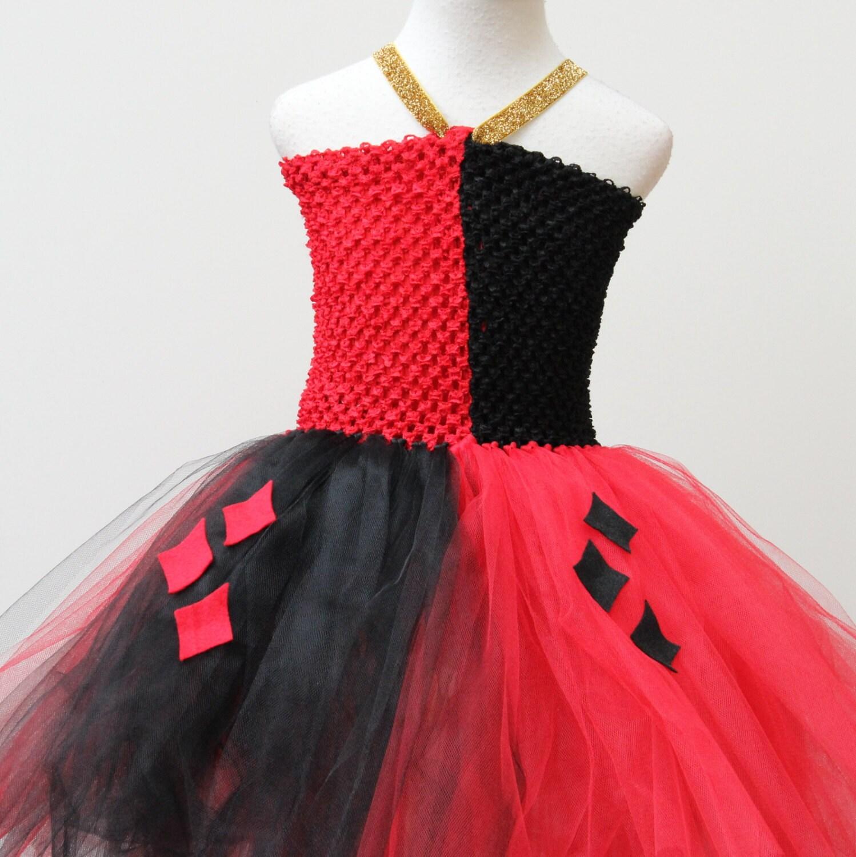 Harley Quinn Dress-designer halloween costume Harley Quinn