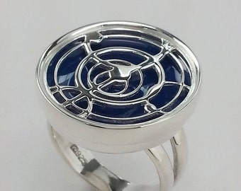 Time Lord Kinetic Cocktail Ring