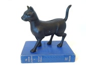 Black Cat Cast Iron Bank