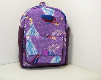 Sisters Forever In Purple Preschool Backpack